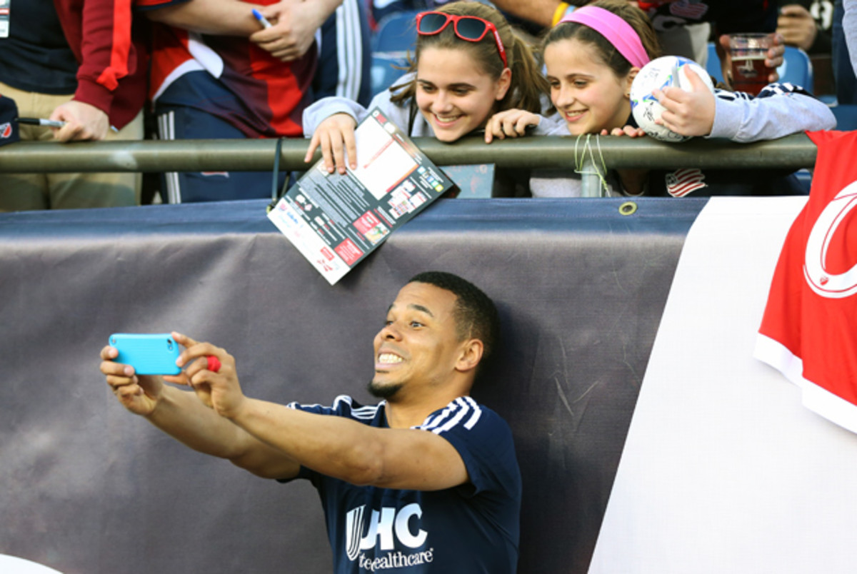 After a frustrating period of his career, Charlie Davies is experiencing more fun and games with the New England Revolution.