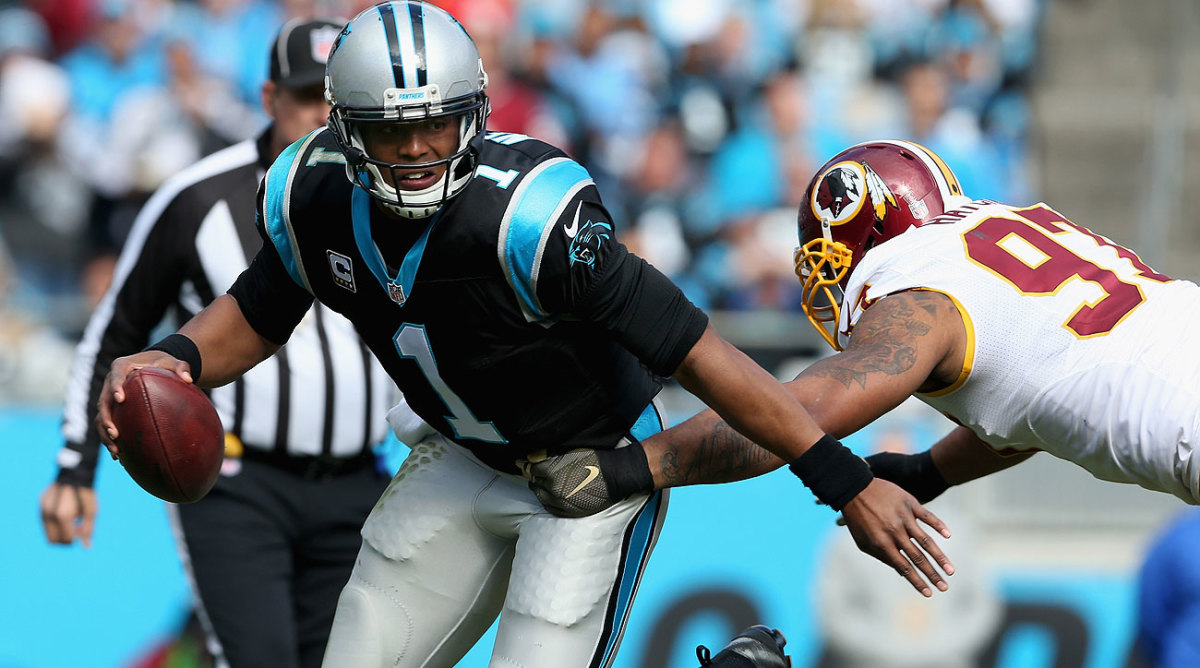 Cam Newton, MVP? The quarterback of the 10-0 Panthers is making a strong case.