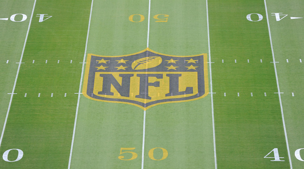 The NFL is using a gold logo this season, a nod to the golden (50th) anniversary of the Super Bowl.
