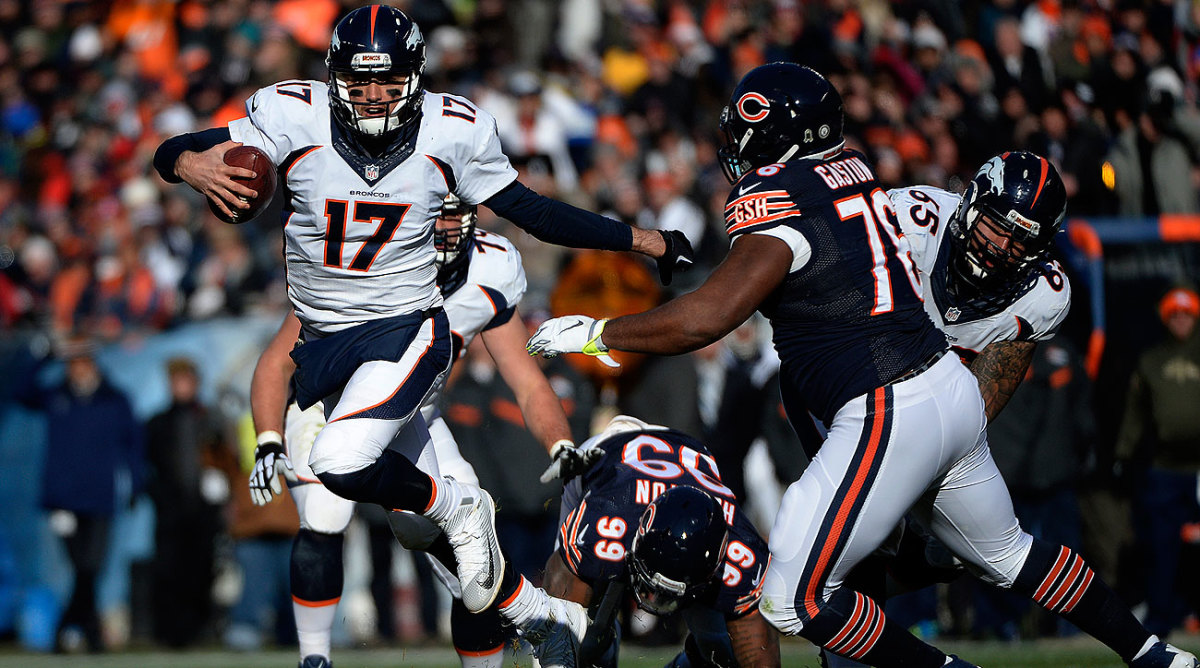 Brock Osweiler didn't turn the ball over in his first NFL start Sunday.