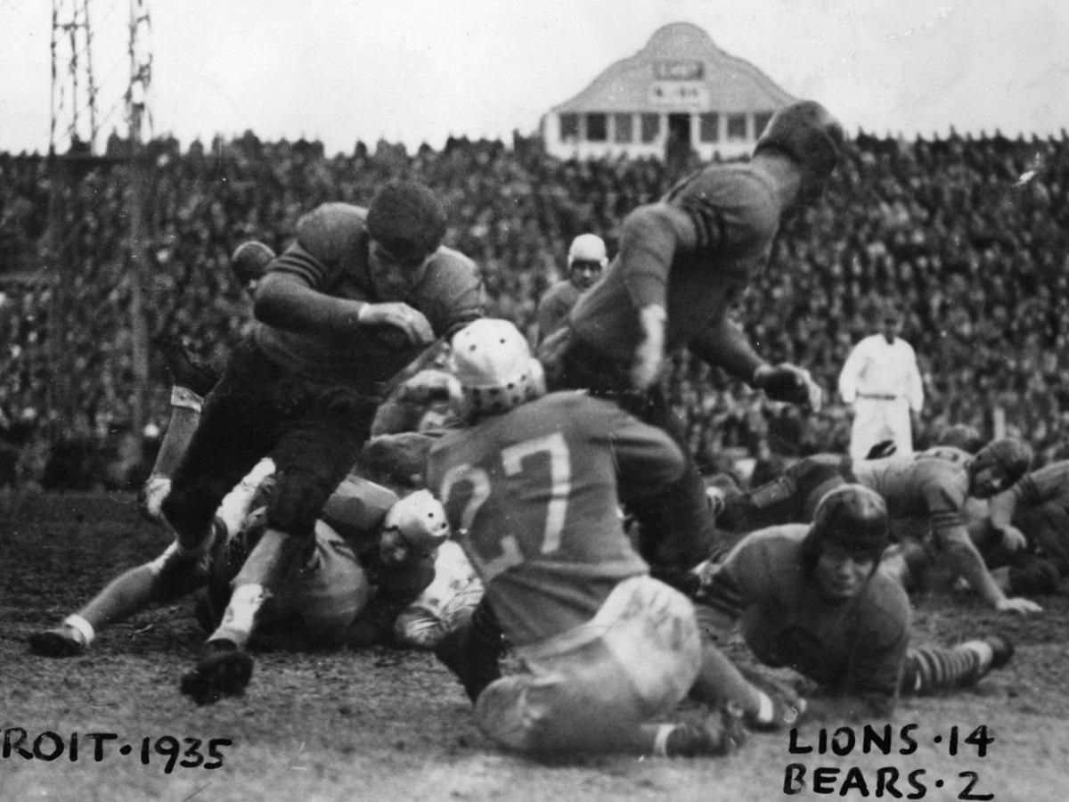 Bears-Lions, 1935.
