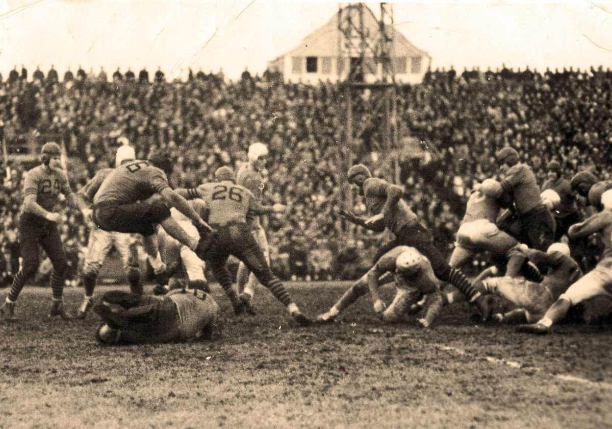 The Lions hosted the Bears at the University of Detroit's stadium in 1934, the beginning of a tradition that is now in its eighth decade.