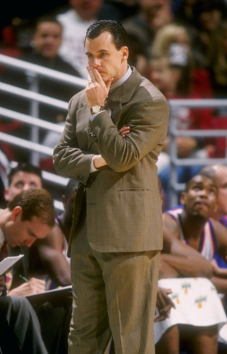Billy Donovan in 1996, his first season as Florida's head coach.