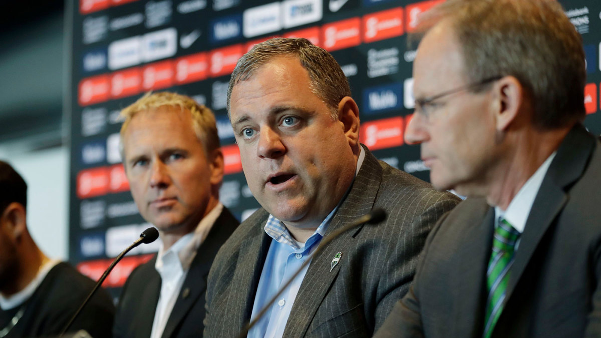 Garth Lagerwey has overseen the Seattle Sounders