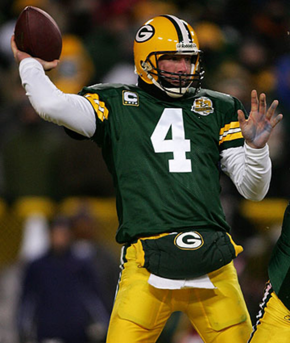 Brett Favre will be eligible for the hall of fame next year. (Jonathan Ferrey/Getty Images)