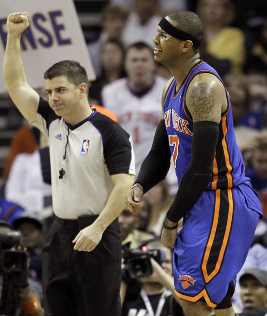 Carmelo Anthony, Knicks
