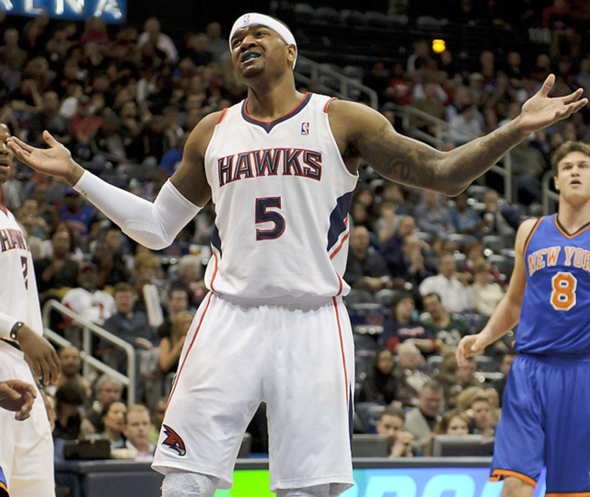Josh Smith, Hawks