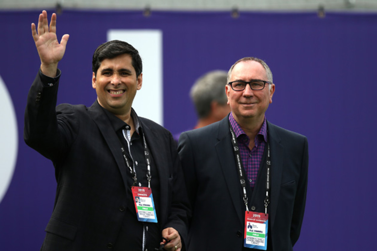 Flavio da Silva, left, and Phil Rawlins: The ownership clout behind Orlando City SC.