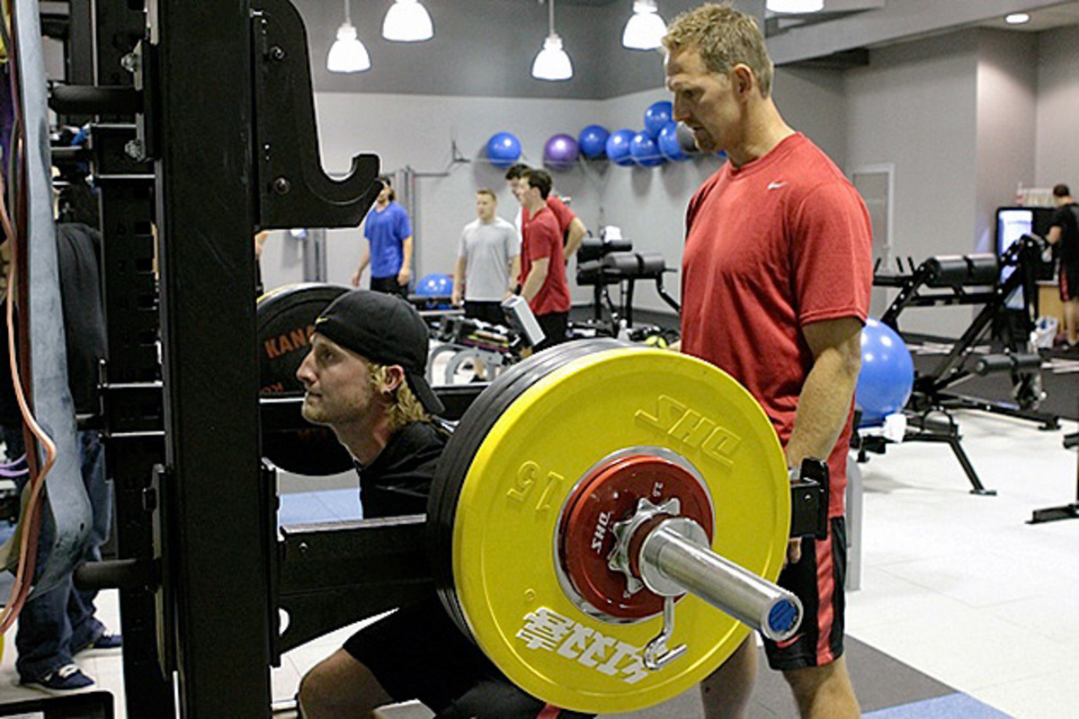 Gary Roberts working with Steven Stamkos