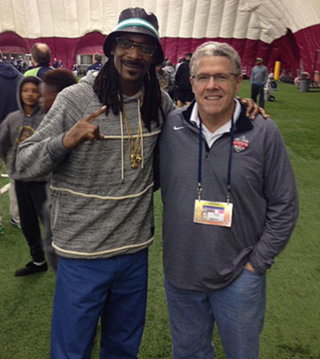 Snoop Dogg and Peter King (MMQB)