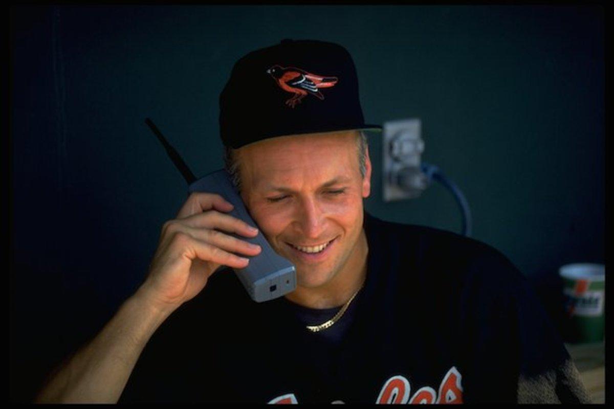 Cal Ripken cell phone
