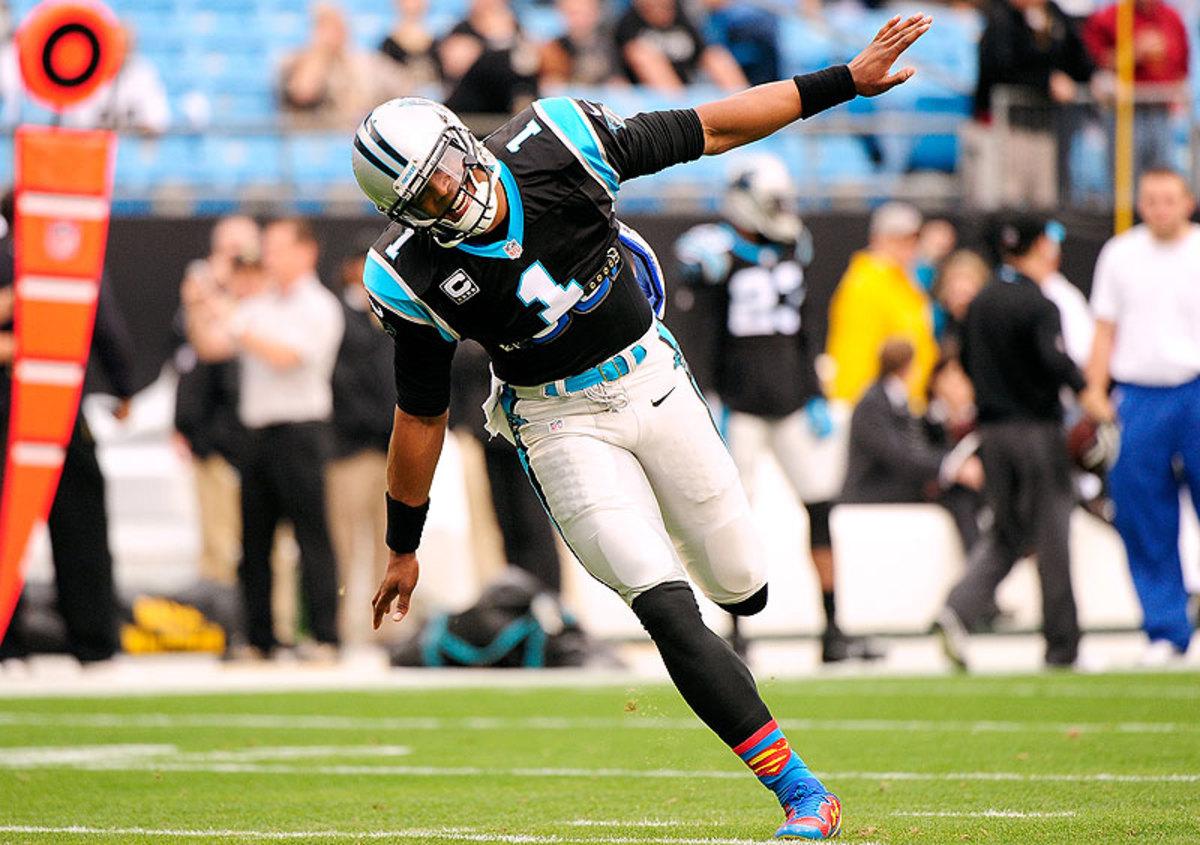 Newton, McCaffrey lead Panthers past Bucs 42-28