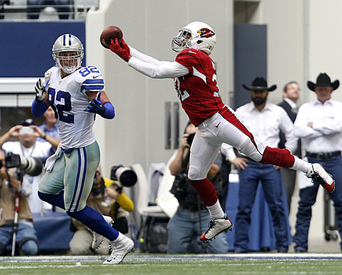 With Antonio Cromartie gone, the Cardinals have a decision to make on Tyrann Mathieu's role. (Fort Worth Star-Telegram/Getty Images)