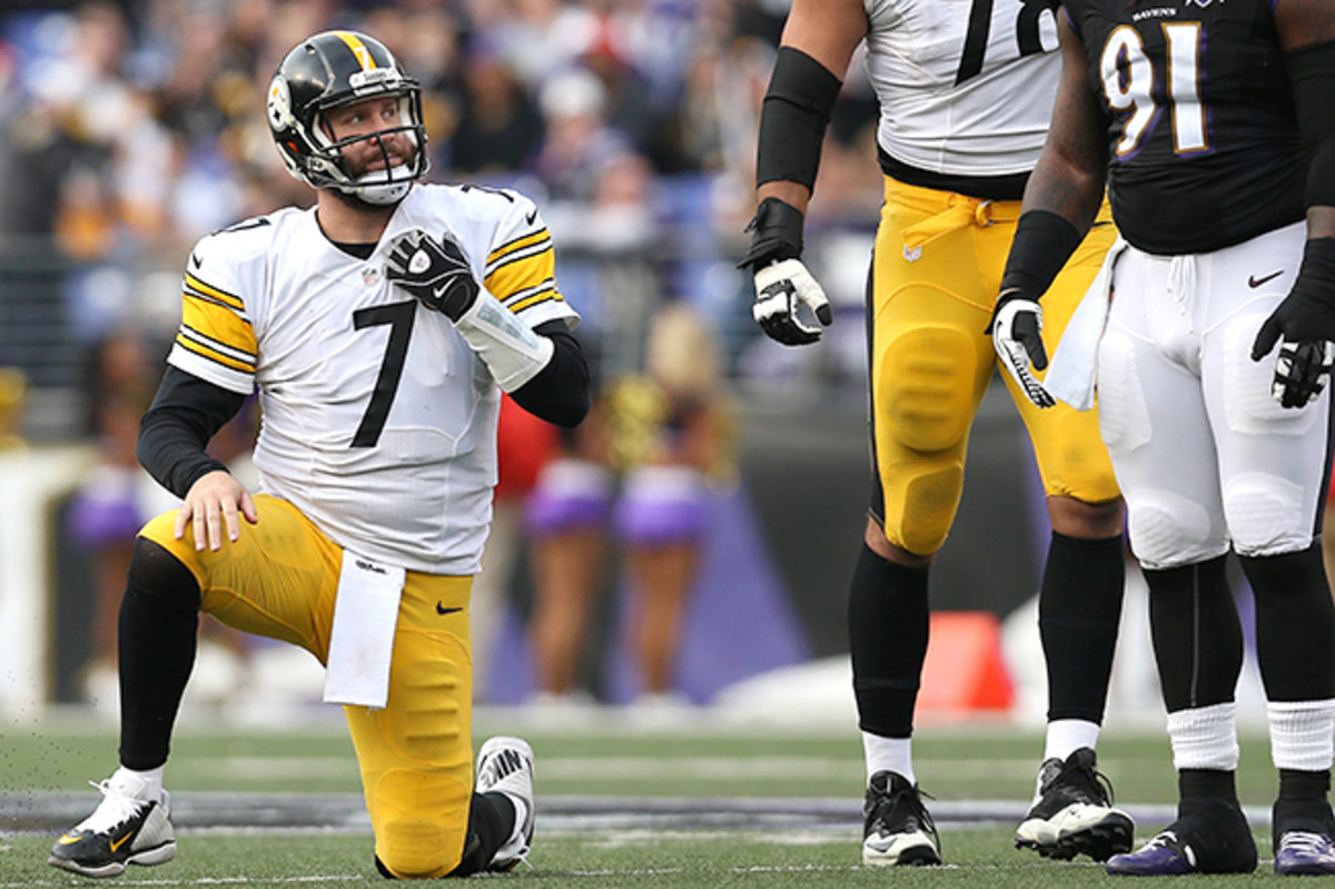 After a stunning loss to the short-handed Ravens, Roethlisberger and the Steelers need help to get into the playoffs.