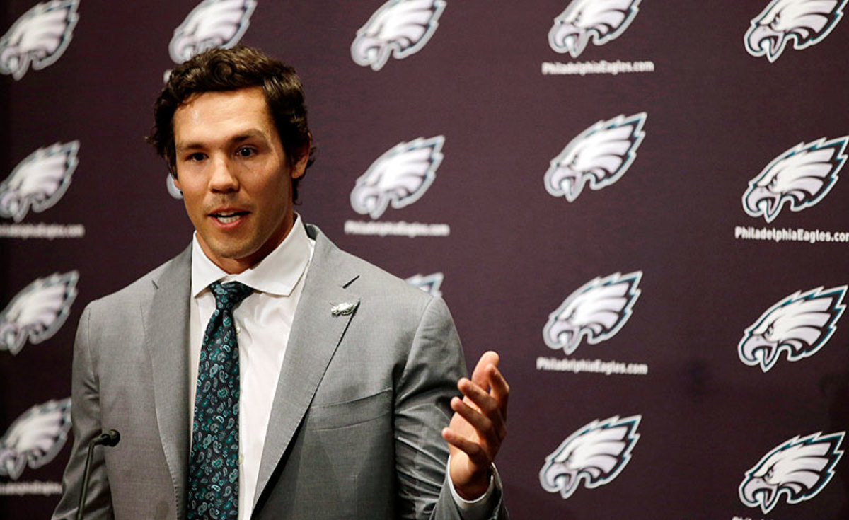 Sam Bradford is a central piece of a roster overhaul by the Eagles this offseason. (Matt Slocum/AP)