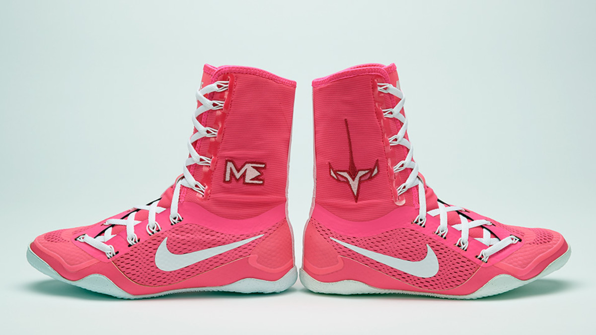 Nike, Marlen Esparza knock out a custom new boxing boot