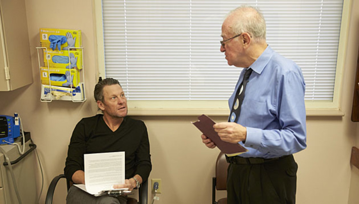 Lance Armstrong volunteered to participate in a followup study with Dr. Einhorn, who pioneered the cyclist's treatment.