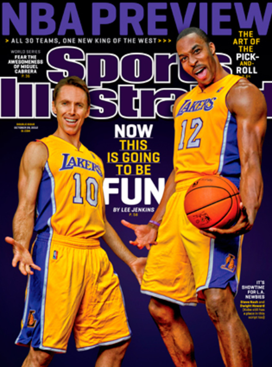 Steve Nash Dwight Howard SI cover