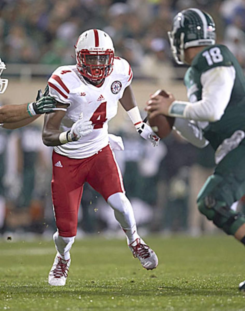 Could Nebraska's Randy Gregory be Dan Quinn's LEO in Atlanta? (Jeff Haynes/SI)