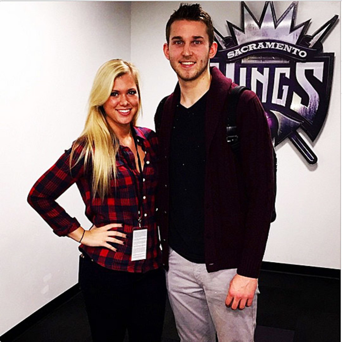 Nik Stauskas and girlfriend Taylor Anderson