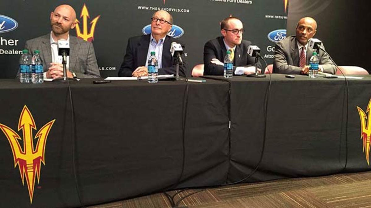 (From left): Chris Mullett, Don Mullett, Greg Powers, Ray Anderson