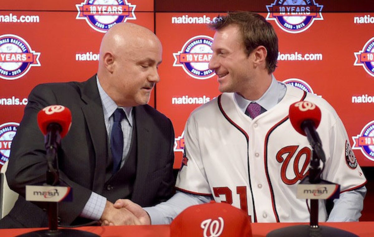 max scherzer washington nationals contract