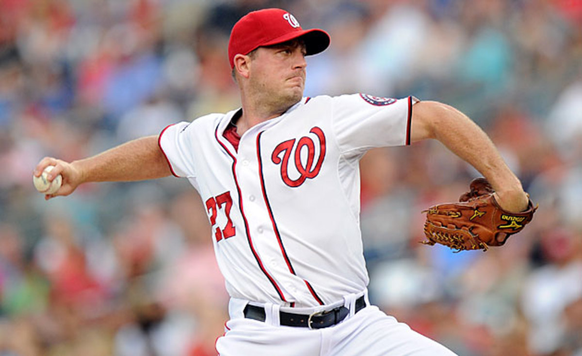 Jordan Zimmermann takes the ball in the series finale on Wednesday for the first-place Nationals.