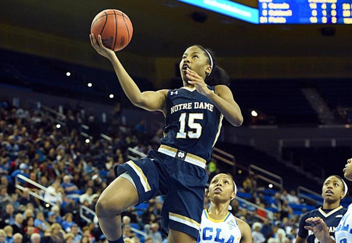 Lindsay Allen Notre Dame women's basketball inline image