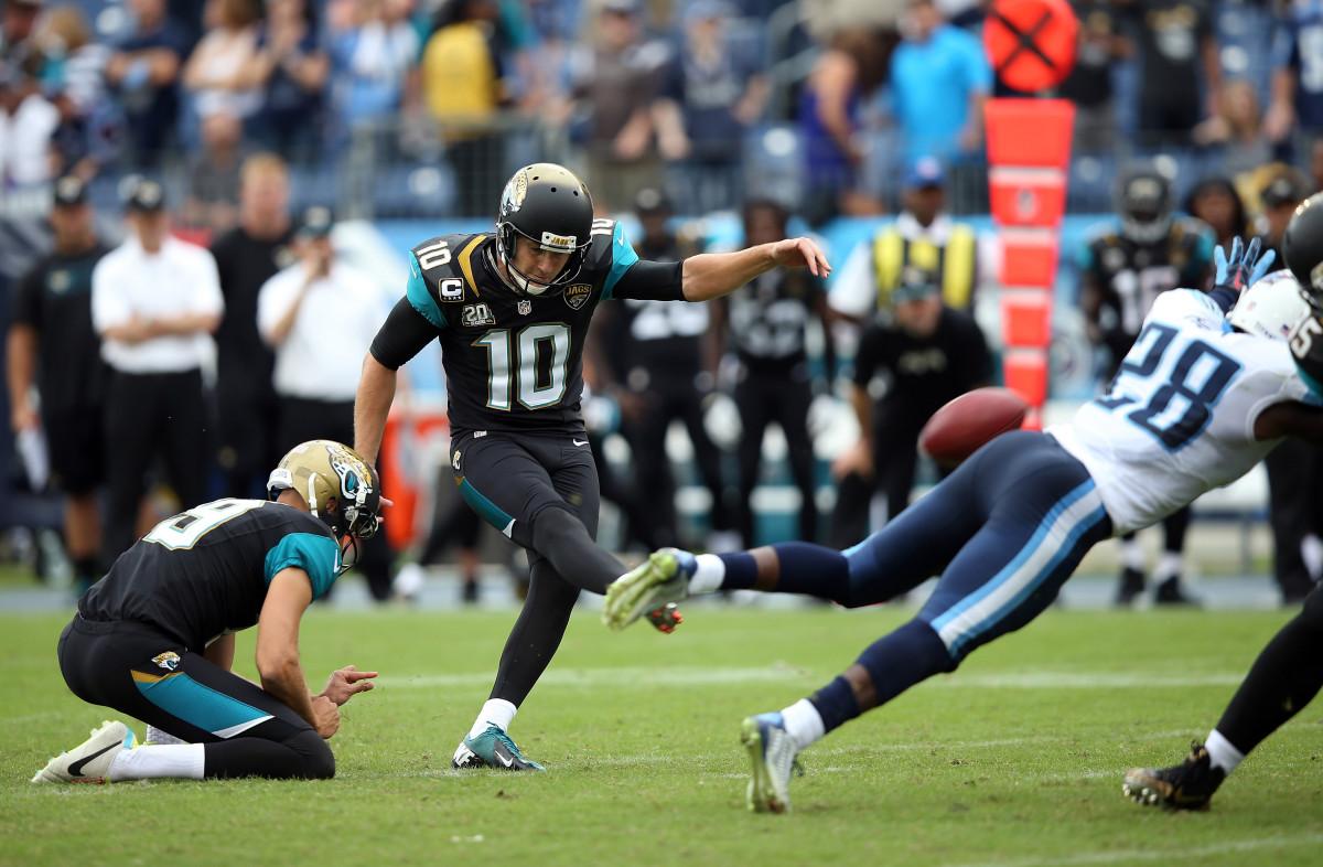 Pittsburgh Steelers kicker injury: Jaguars trade Josh Scobee ...