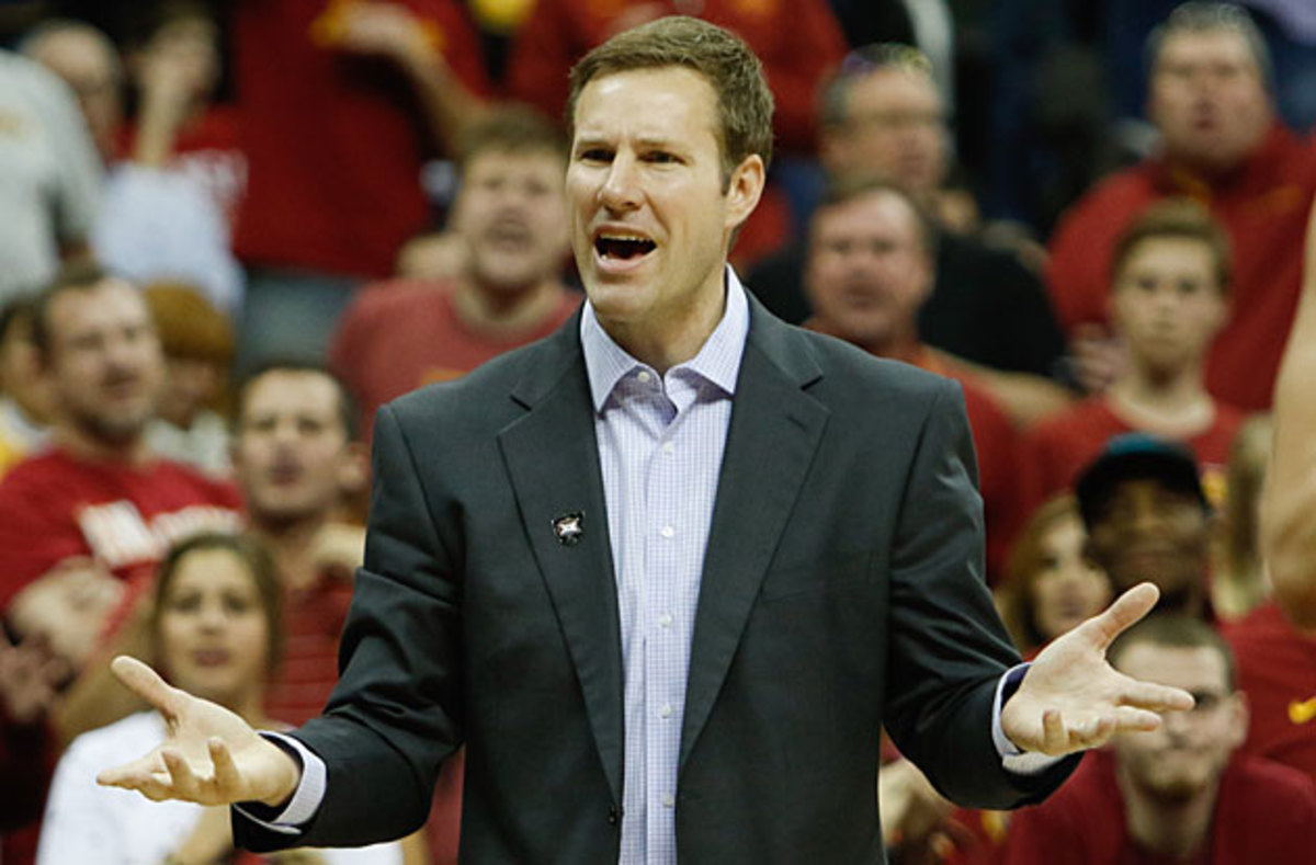 Fred Hoiberg has been in Ames for five seasons and led the Cyclones to the last two Big 12 tournament titles.