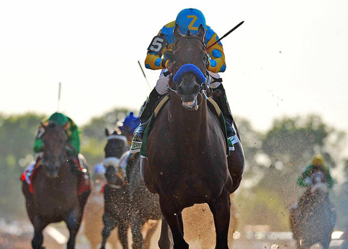 American Pharoah Belmont Stakes Triples Crown .jpg