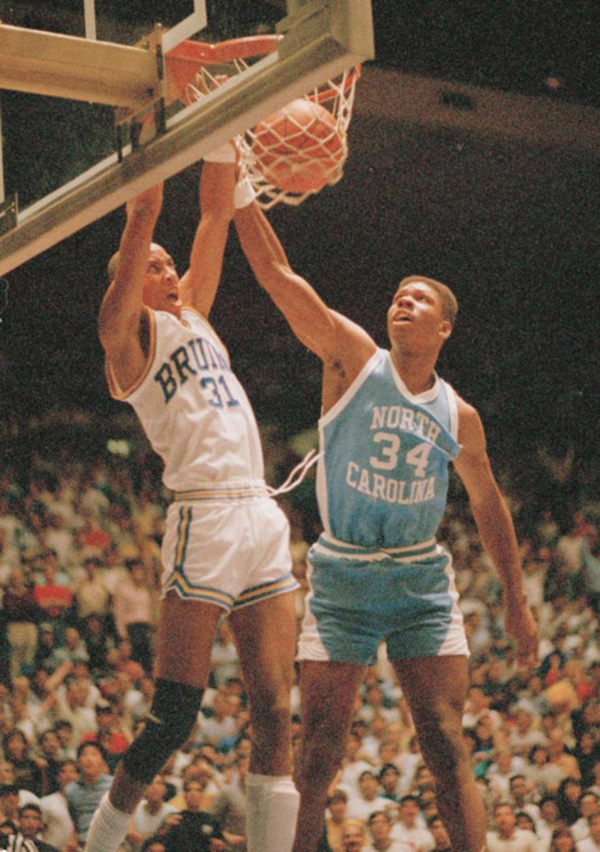 Reggie Miller and J.R. Reid
