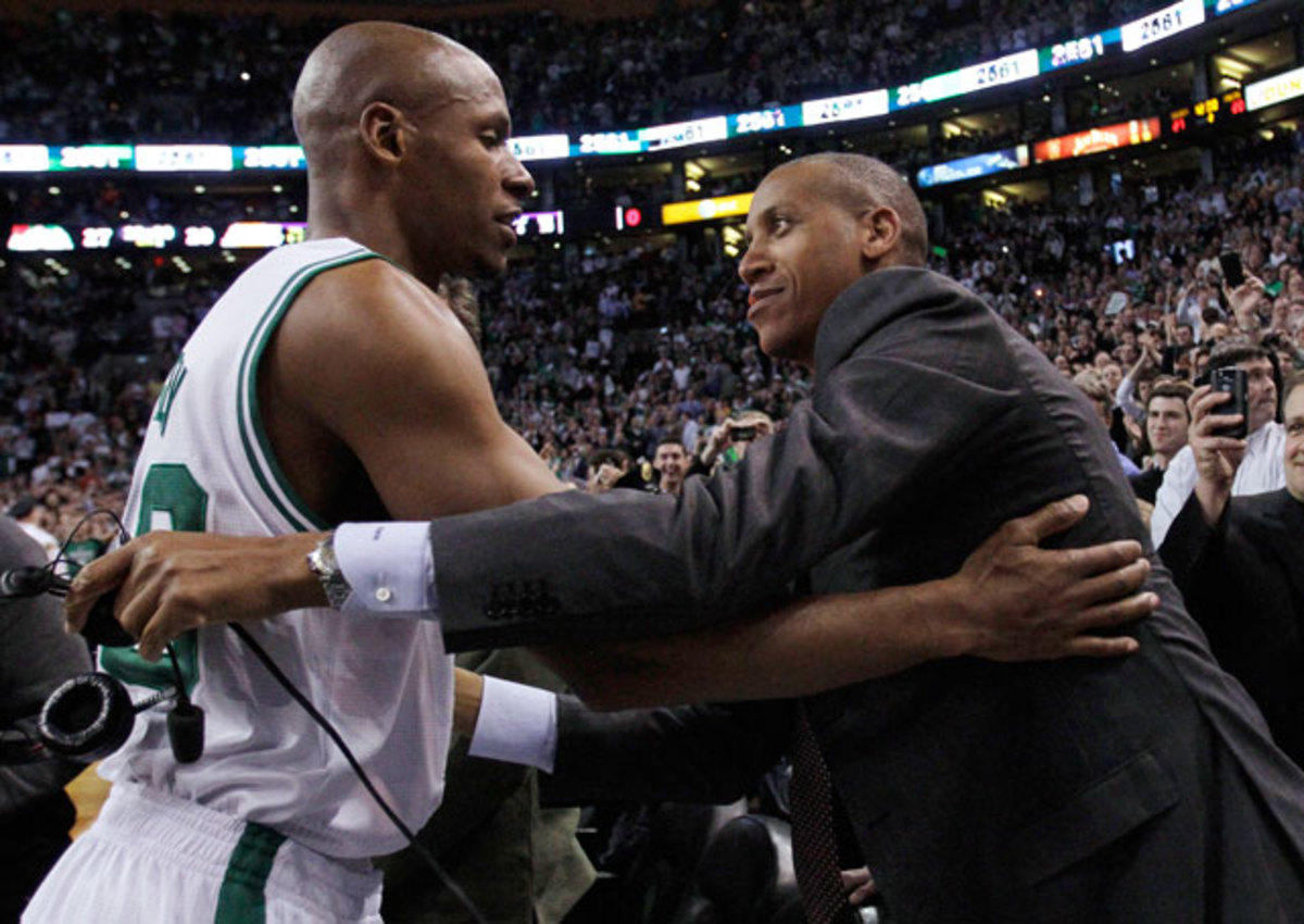 Ray Allen and Reggie Miller