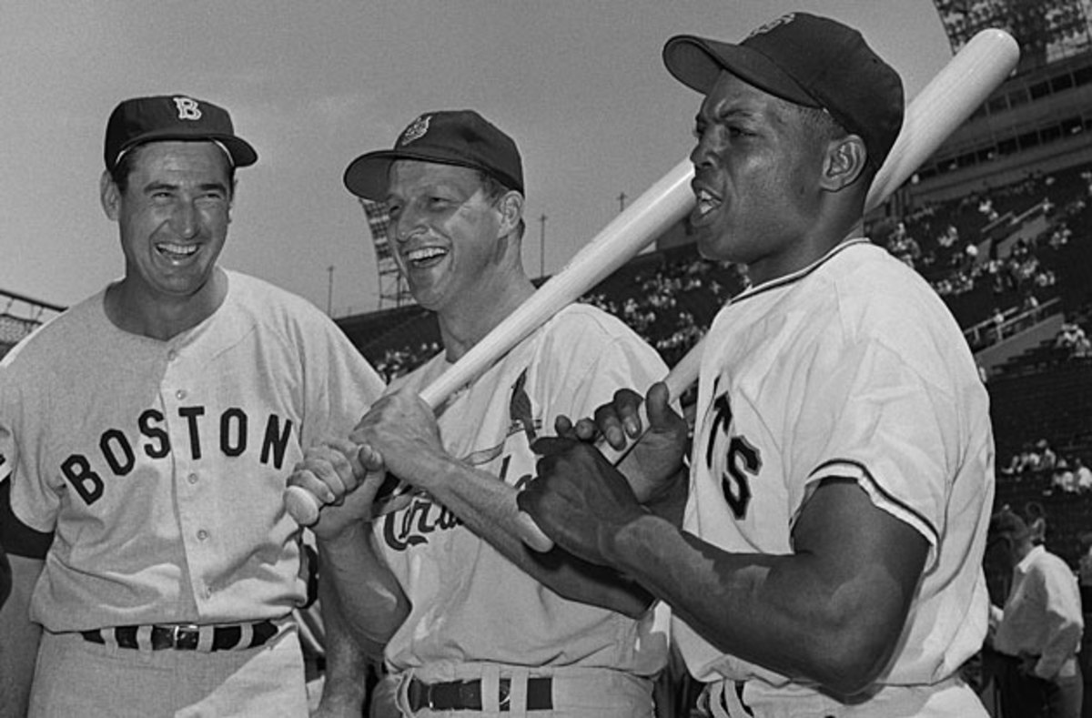Ted Williams, Stan Musial and Willie Mays (L to R) were as good at the Midsummer Classic as they were during the regular season.