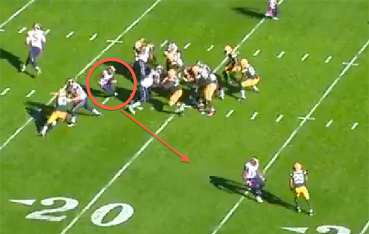 55 yards vs. Packers