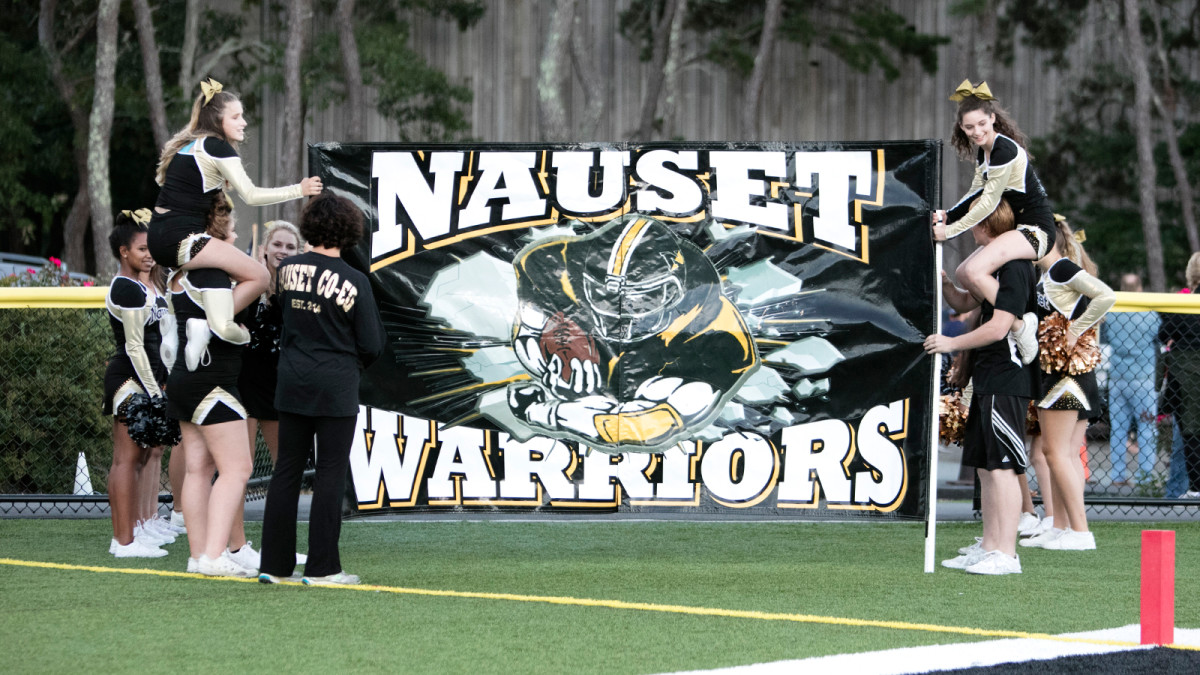 Nauset draws students from six towns on the Cape. It has produced one NFL player, Mike DeVito. (Photo: Bill Johnson for The MMQB)