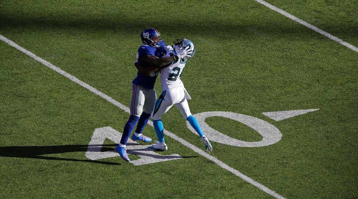 Odell Beckham Jr. was suspended one game for his actions during Sunday's game against Carolina.