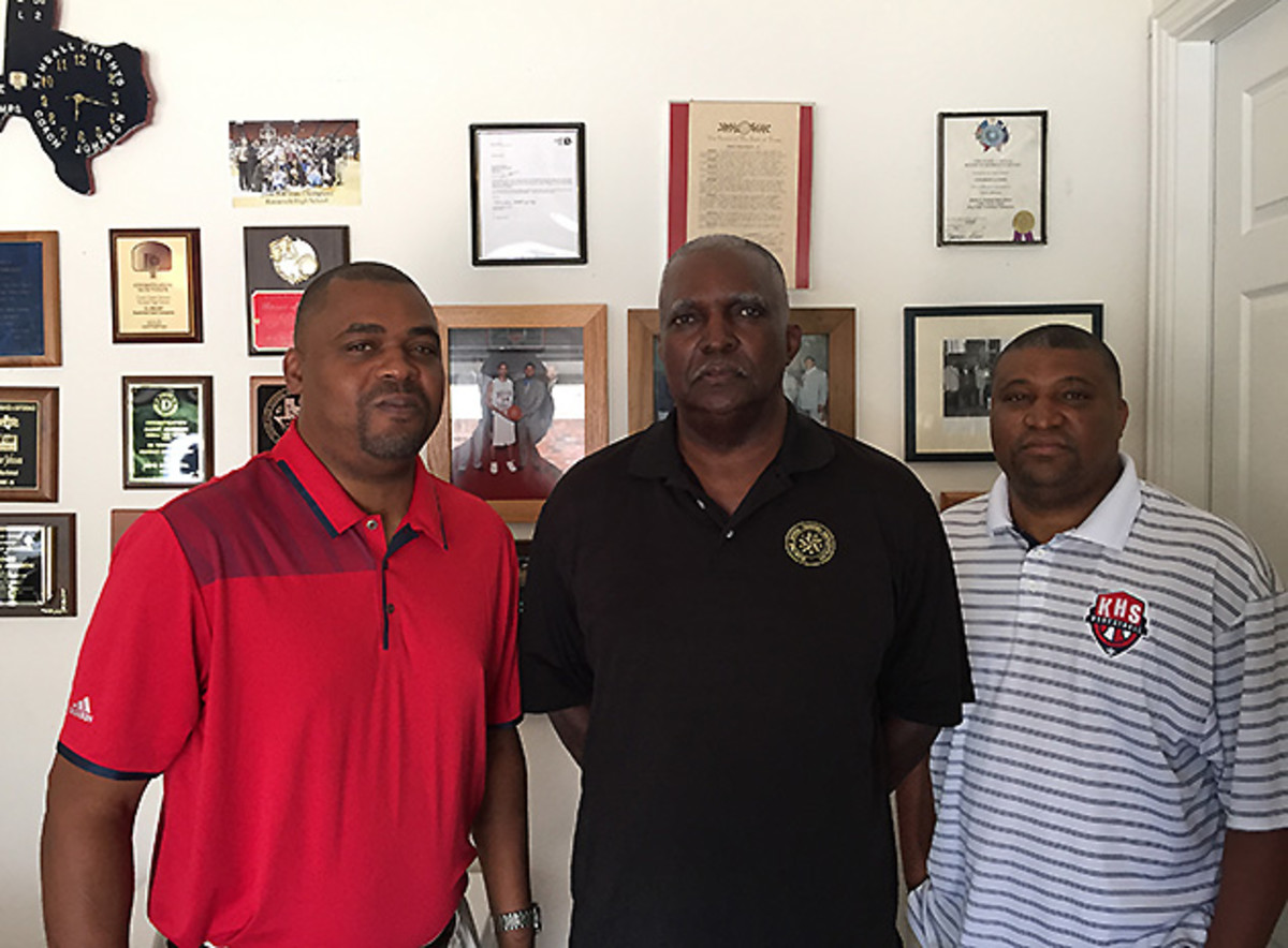 Roderick (left), Goree (center) and Snoop Johnson all lost their jobs in the wake of the DISD recruiting scandal.