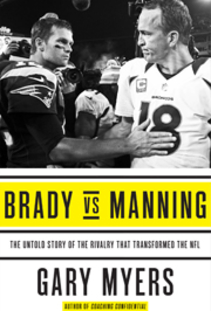 Brady vs. Manning. Click to purchase.