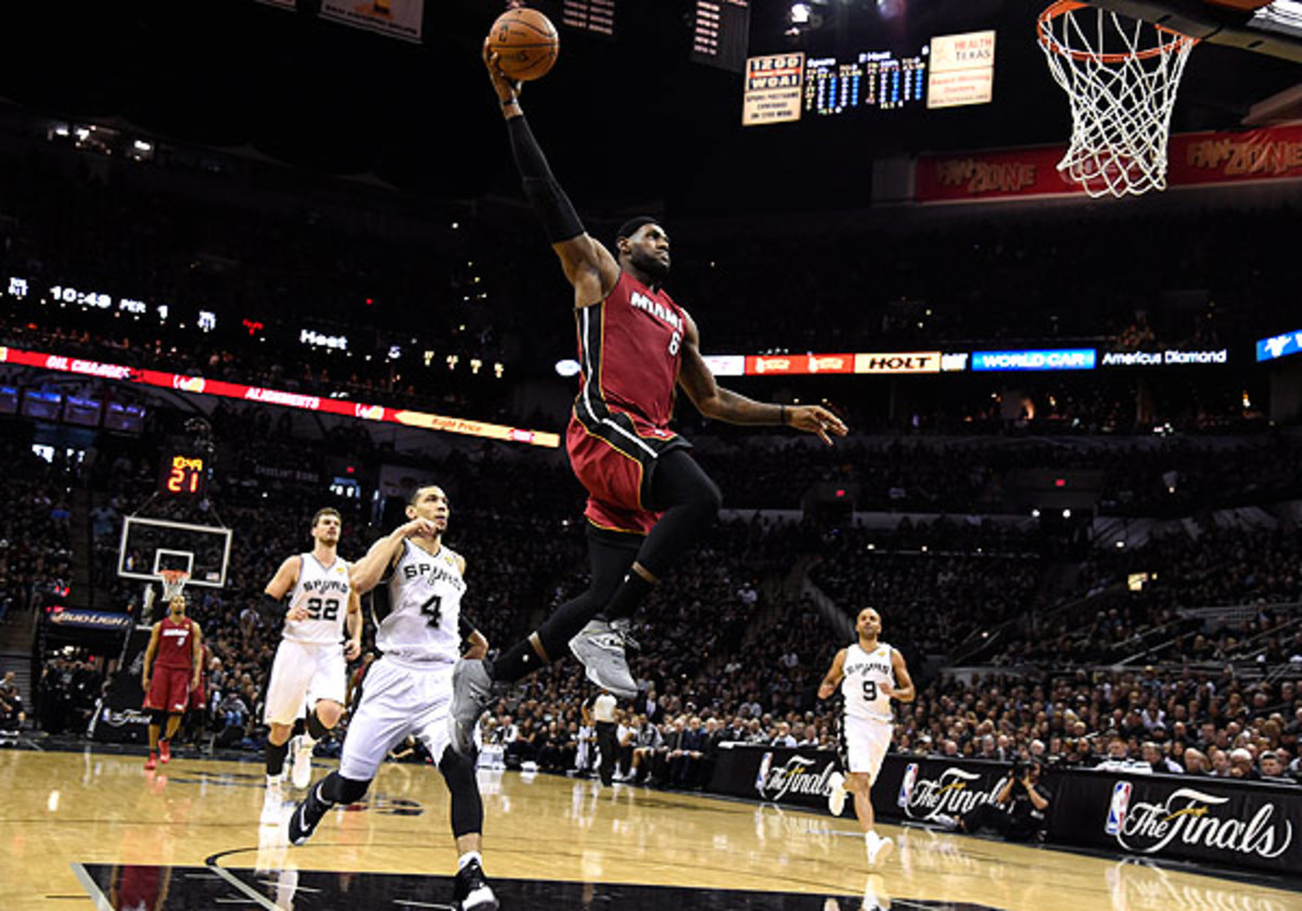 Miami's LeBron James had one message for his critics on Friday: Bring it on.