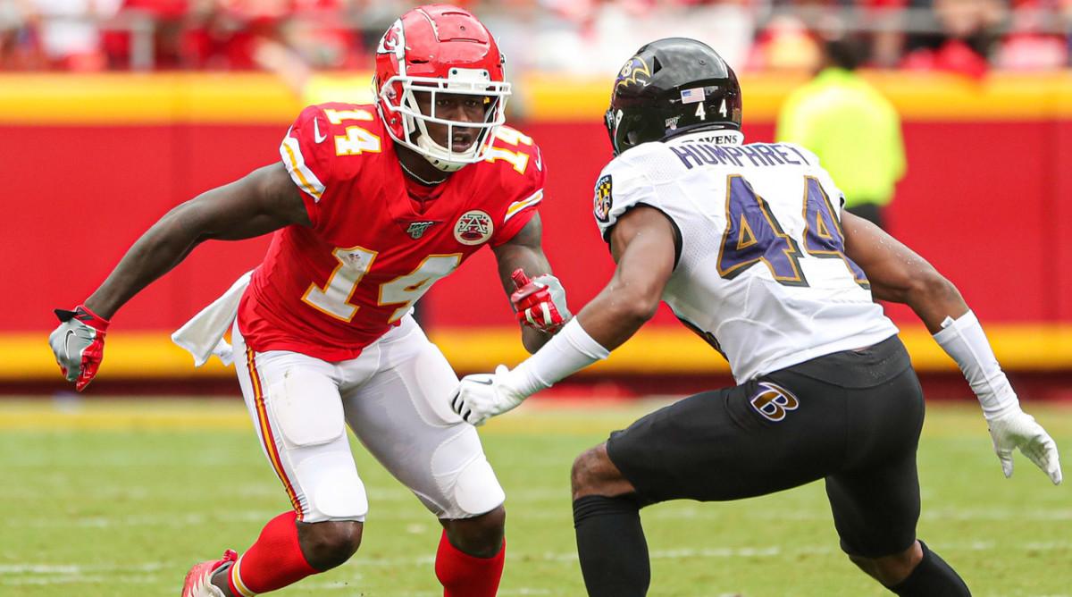 NFL DFS must-have sneaky value WR - Sammy Watkins