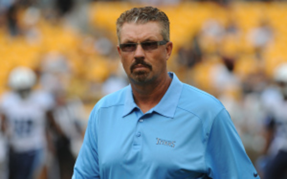 Gregg Williams and Rams head coach Jeff Fisher spent four years together with the Titans. (George Gojkovich/Getty Images)