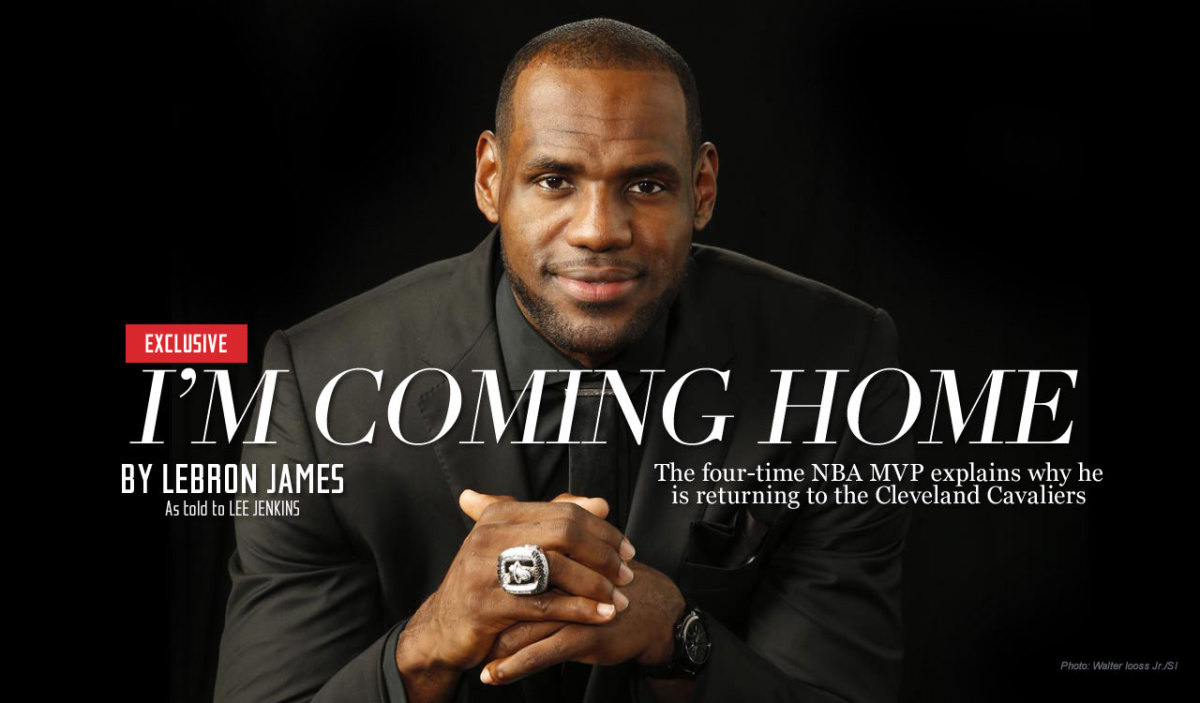 Image result for Lebron heads back to cleveland