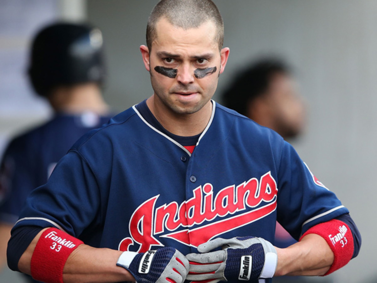 Nick Swisher and the Indians face a tall task in qualifying for the playoffs again. (Leon Halip/Getty Images)