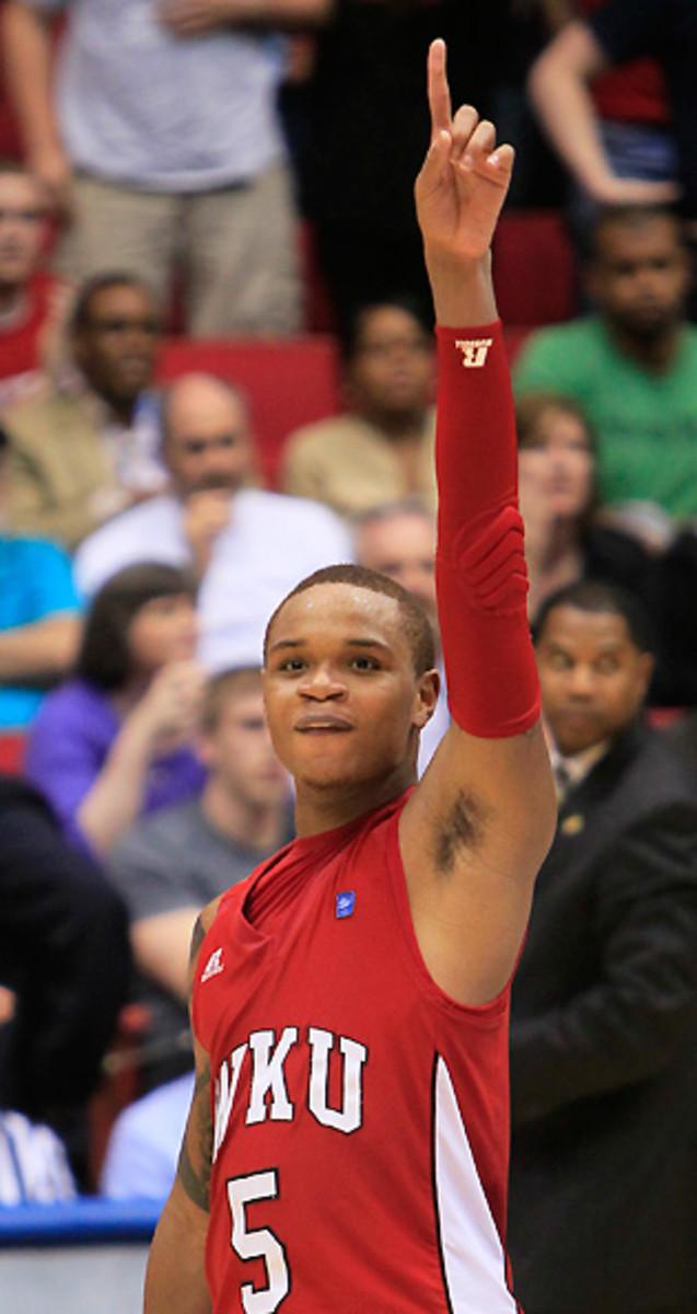 Derrick Gordon led Western Kentucky to a surprise NCAA tournament berth as a freshman.