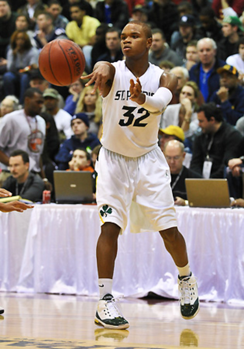 Gordon decided that he wanted to attend St. Patrick for better educational and basketball opportunities.