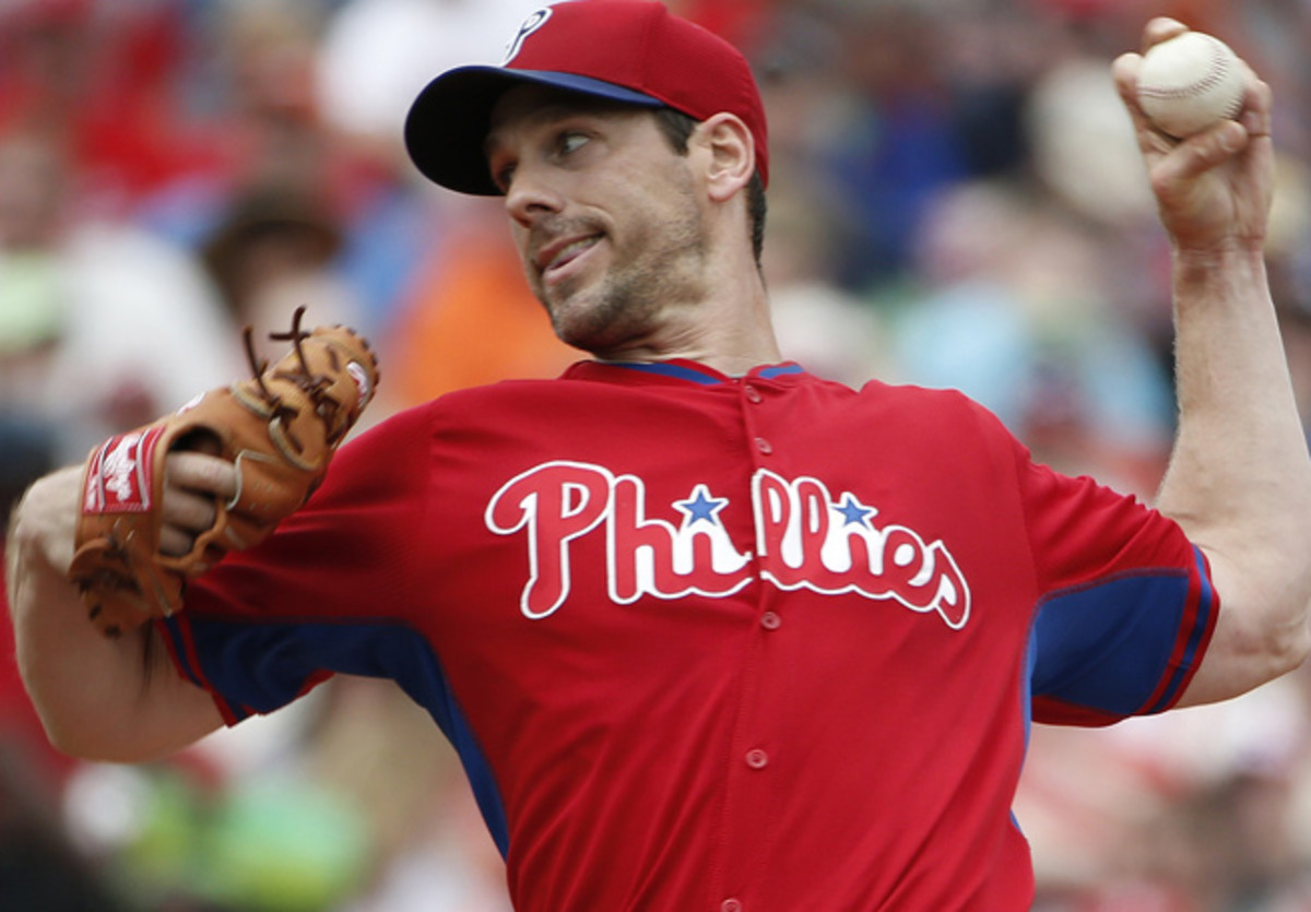 Cliff Lee will make his first Opening Day start since 2009, when he was with Cleveland.
