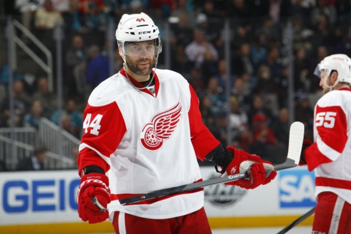 Tood Bertuzzi has nine goals and 16 points in 59 games this year. (Rocky Widner/Getty Images)