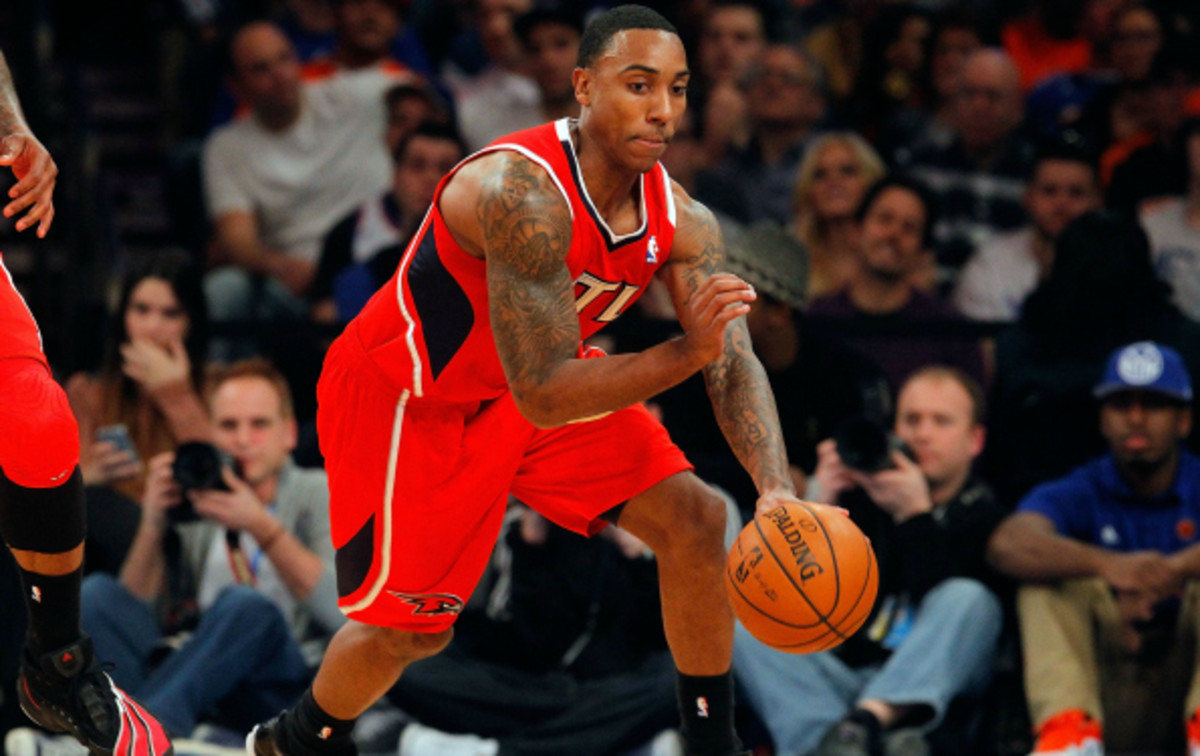 Jeff Teague is currently in his 5th season with the Atlanta Hawks. (Jim McIsaac/Getty Images)
