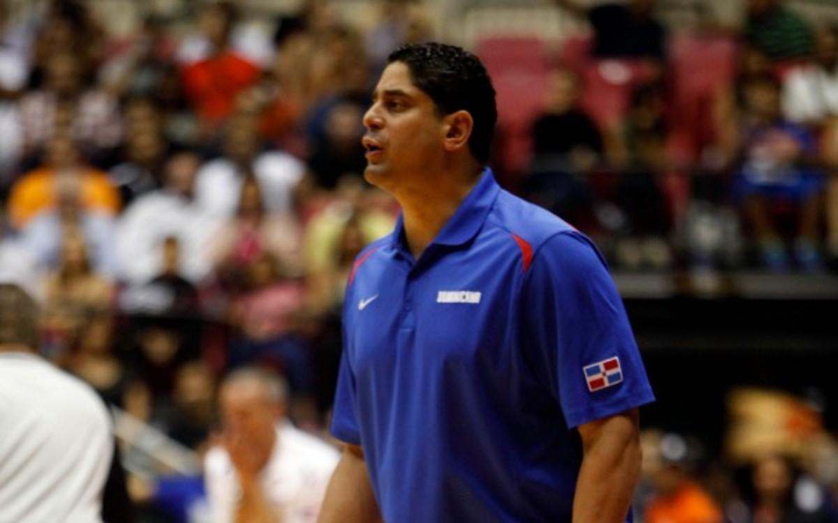 Kentucky assistant coach Orlando Antigua also coaches theDominican Republic men's national team. (AP Photo/Ricardo Arduengo)